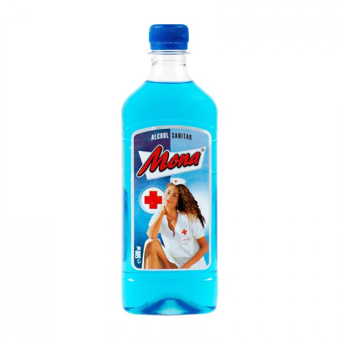 Alcool sanitar, Mona 500 ml 0