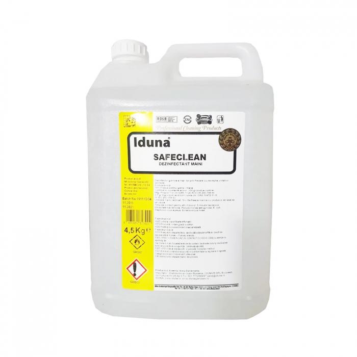 Dezinfectant Virucid maini si tegumente Safe Clean Iduna aviz Biocid 4,5l [0]