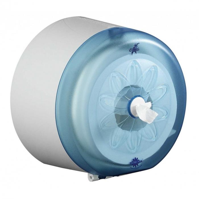 Dispenser hartie igienica, derulare centrala 0
