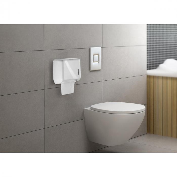 Dispenser hartie igienica pliata mini Rulopak R-1319S 2