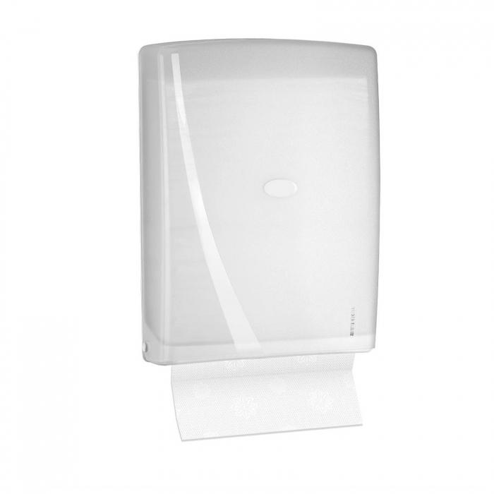 Dispenser plastic servetele Z-fold capacitate 400 servetele, R-1312 0
