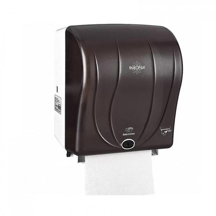 Dispenser prosop hartie cu senzor 26 cm Rulopak R-1301B [0]