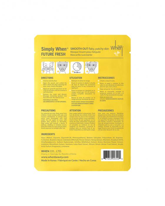 Masca coreana hidratanta si revigoranta pentru ten obosit, Future Fresh, 23 ml, Simply When [1]