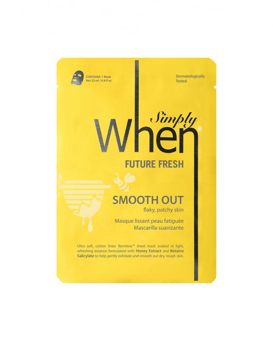 Masca coreana hidratanta si revigoranta pentru ten obosit, Future Fresh, 23 ml, Simply When [0]