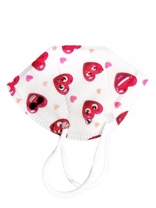 Masca protectie FFP2 pentru copii - Ambalate individual (10 bucati) [3]