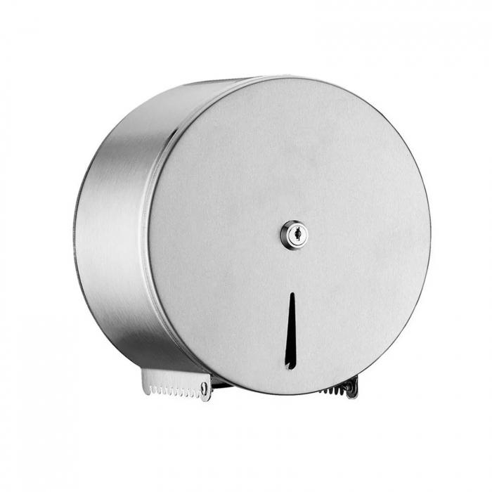 Dispenser inox hartie igienica minijumbo 0