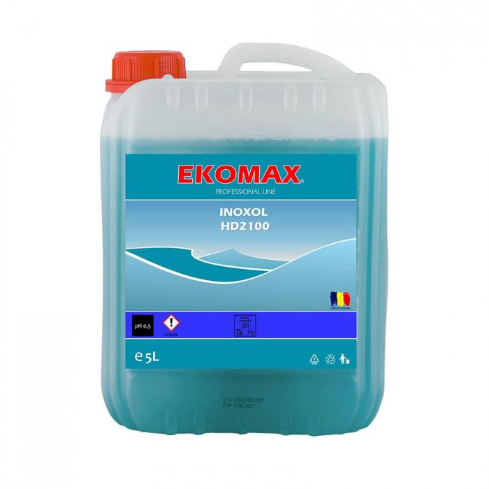 Detergent pentru inox, canistra 5L, Ekomax Inoxol [0]