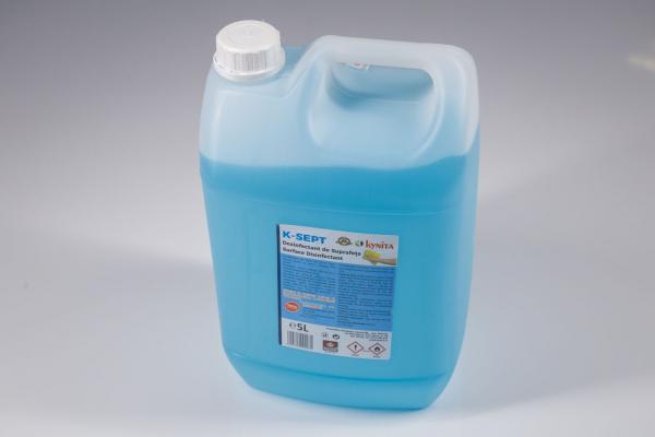 Solutie dezinfectanta de suprafete, K-Sept, pe baza de alcool 75% ,5 l [1]