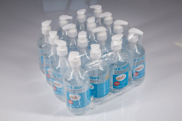 Gel dezinfectant de maini pe baza de alcool 75% cu glicerina si aloe vera K-SEPT 500 ML 4