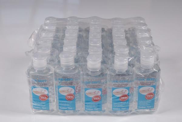 Gel dezinfectant de maini, K-Sept, pe baza de alcool 75% cu glicerina si aloe vera, 75 ml 4