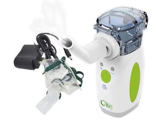 Aparat aerosoli portabil, Olive, tehnologie MESH 0
