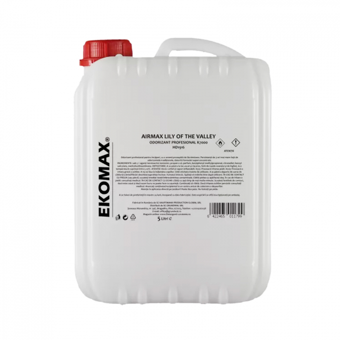 Odorizant profesional EKOMAX K7000 Airmax Lilly of the Valley 5L 0