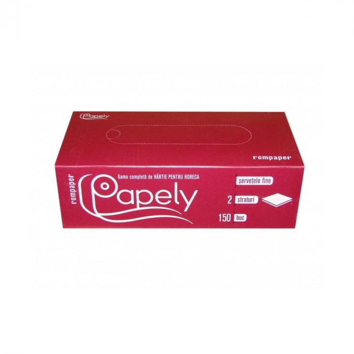 Servetele la cutie Papely 150buc 2str. [0]