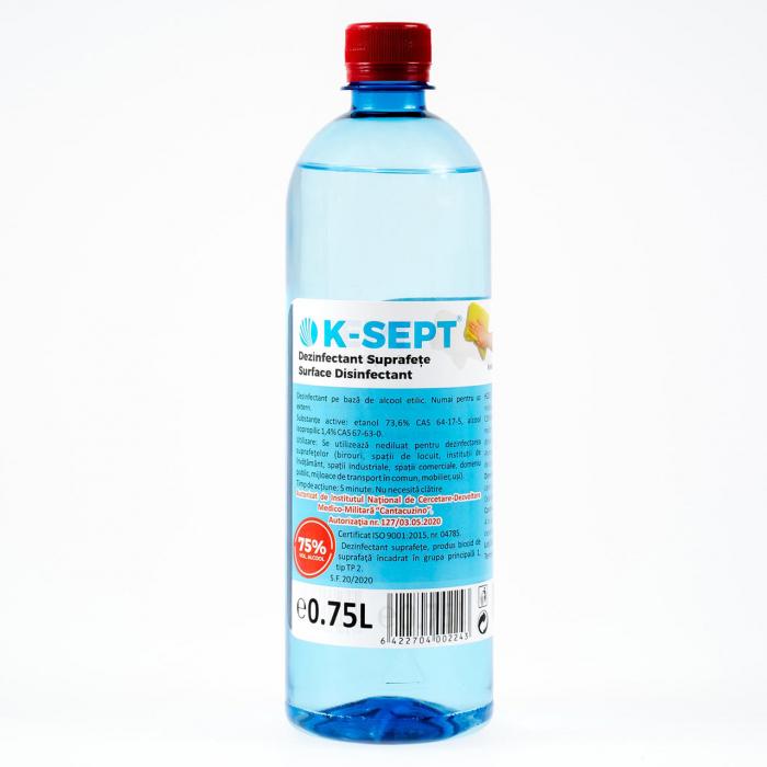 Solutie Dezinfectanta pentru Suprafete K-Sept 750Ml 0