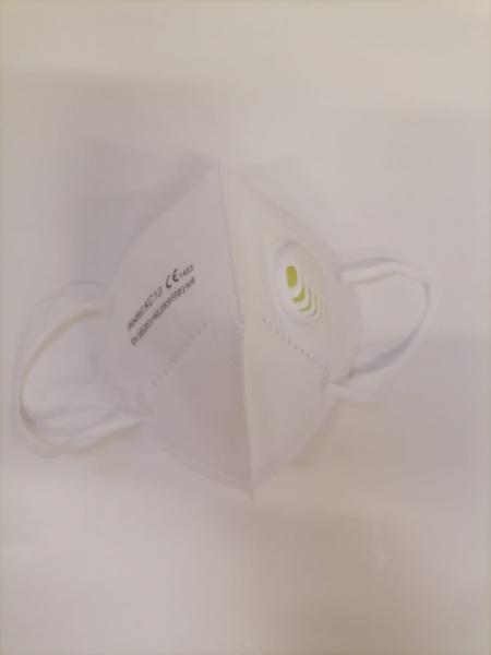 Masca de protectie respiratorie FFP2, Cu Valva, set 5 bucati [2]