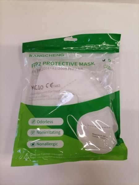 Masca de protectie respiratorie FFP2, Cu Valva, set 5 bucati [3]