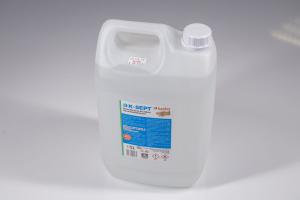 Lichid dezinfectant pe baza de alcool 75% cu glicerina K-SEPT 5 L1