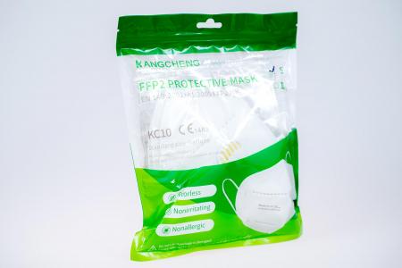 Masca de protectie respiratorie FFP2, Cu Valva, set 5 bucati [0]