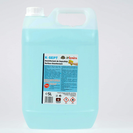Solutie dezinfectanta de suprafete, K-Sept, pe baza de alcool 75% ,5 l [0]