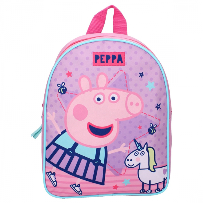Ghiozdan gradinita Peppa Pig One Big Party 28 cm 1