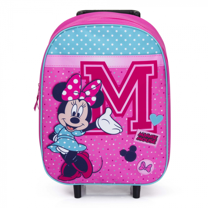Troler scoala Minnie Mouse 39 cm Live in Style 1