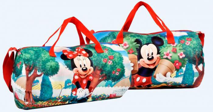 Geanta sport Minnie Mouse 43x24x24cm 3