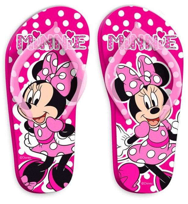 Papuci slapi flip flop Minnie Mouse 0