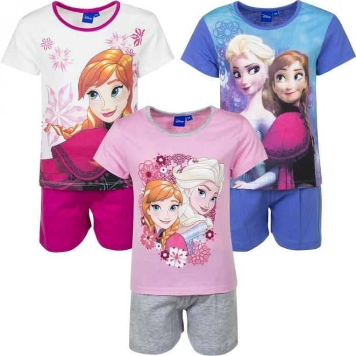 Pijama Frozen Ana Elsa maneca scurta [1]