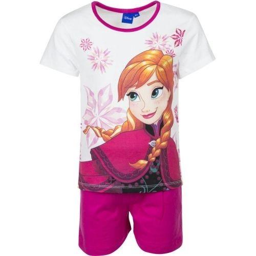 Pijama Frozen Ana Elsa maneca scurta 1