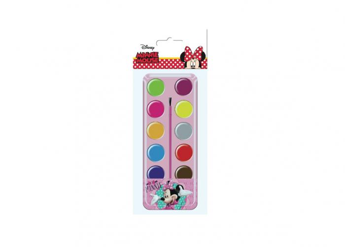 Acuarele 12 culori Minnie Mouse 0