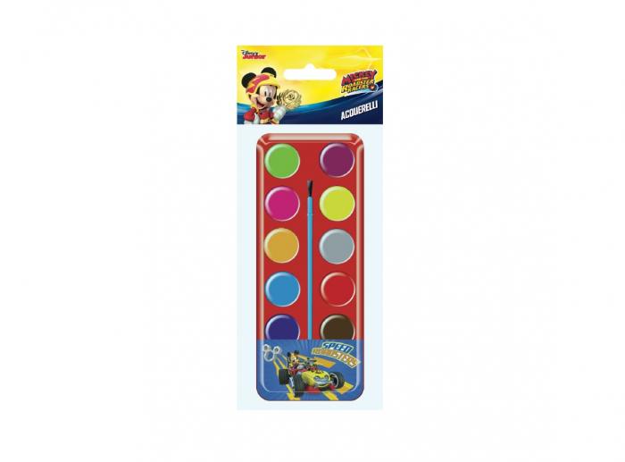 Acuarele 12 culori Mickey Mouse 0