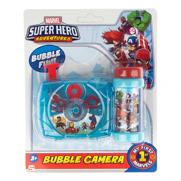 Aparat baloane de sapun camera foto Avengers [0]