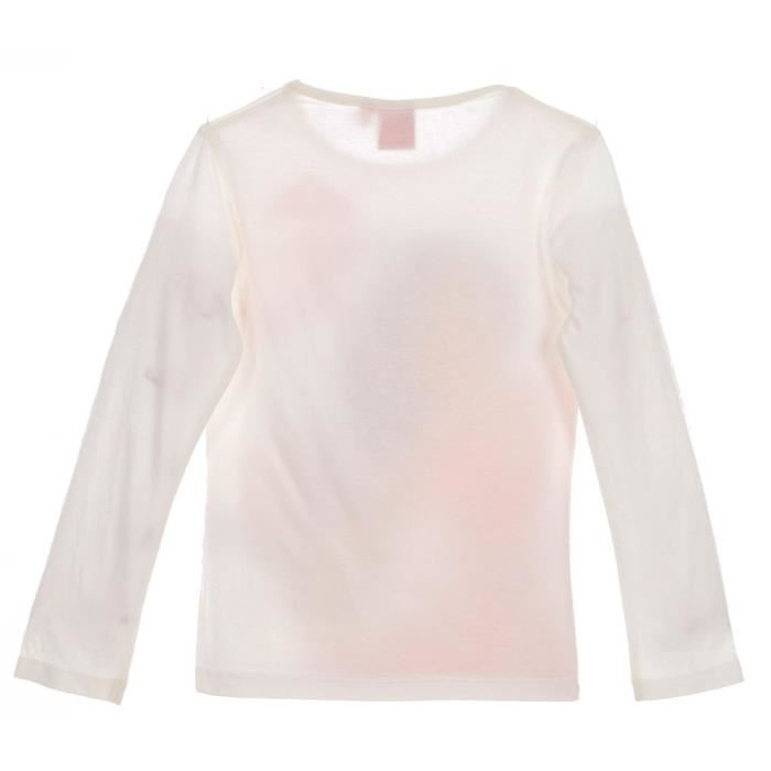 Bluza maneca lunga Elena din Avalor, alb, 5 ani, 110 cm 1
