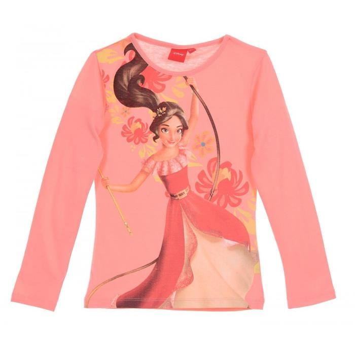 Bluza maneca lunga Elena din Avalor, roz, 6 ani, 116 cm 0