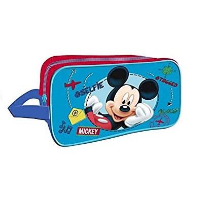 Borseta,geanta incaltaminte, Mickey Mouse 17x28x10 cm 0