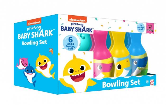 Set bowling Baby Shark 6 popice 0
