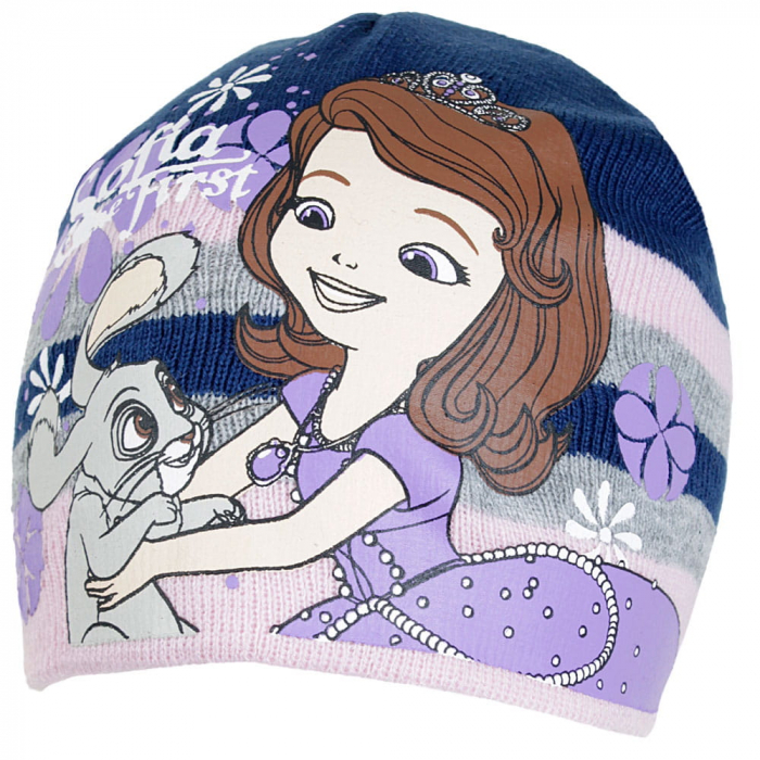 Caciula caciula si manusi tricotate Printesa Sofia 1
