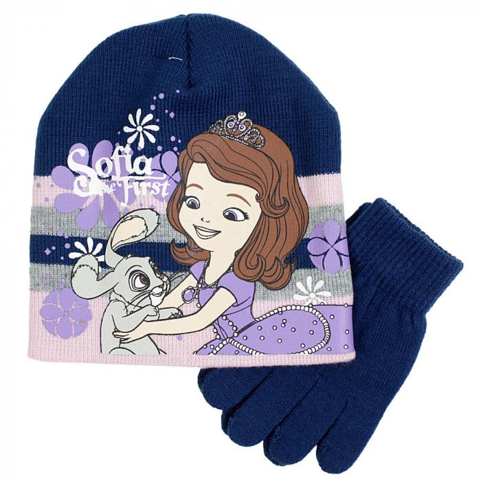 Caciula caciula si manusi tricotate Printesa Sofia 0