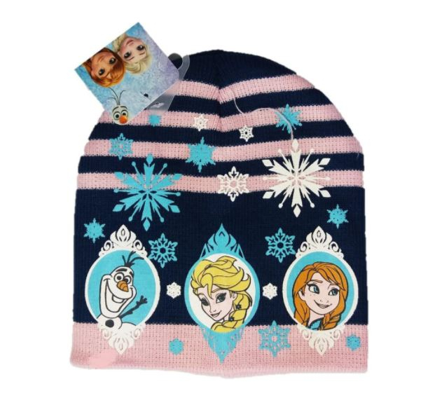 Caciula tricotata Frozen fulgi de nea [0]