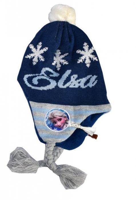 Caciula Frozen bleumarin, model norvegian 0