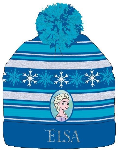 Caciula groasa Frozen Elsa cu ciucure 0