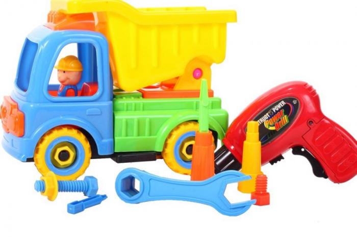Camion cu trusa de reparatii 26x11x19 cm [1]