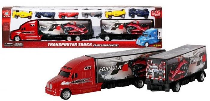 Camion Formula 1 cu 6 masinute incluse 0