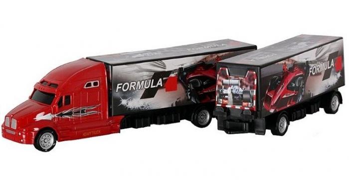 Camion Formula 1 cu 6 masinute incluse 1