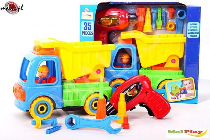 Camion cu trusa de reparatii 26x11x19 cm [0]