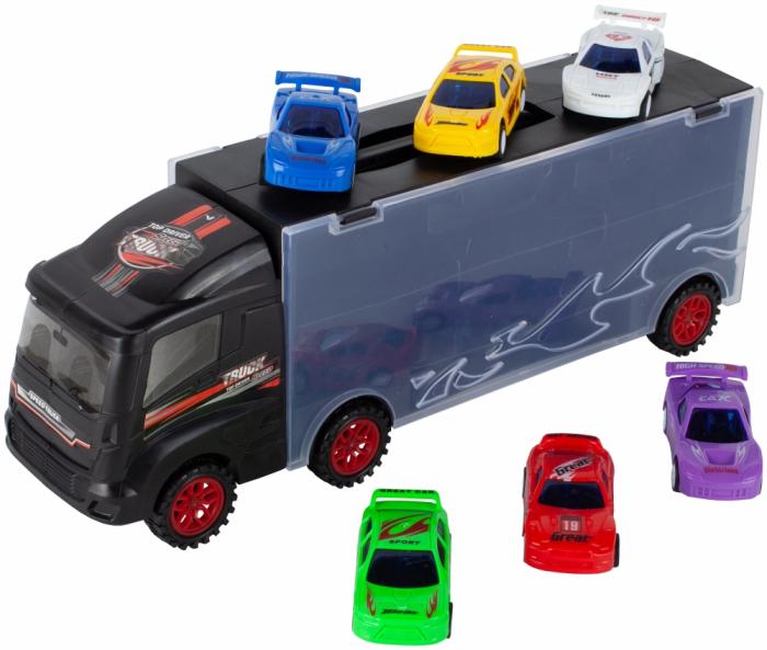 Camion valiza cu 6 masinute incluse [0]