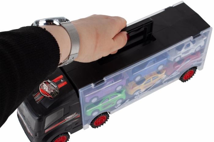 Camion valiza cu 6 masinute incluse [3]