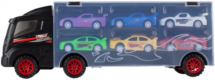 Camion valiza cu 6 masinute incluse [2]