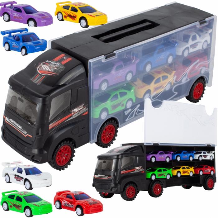 Camion valiza cu 6 masinute incluse [4]