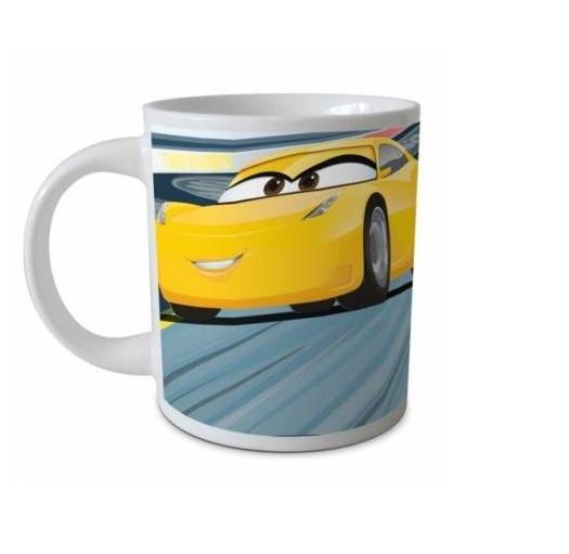 Cana ceramica Cars galbena 237 ml 0
